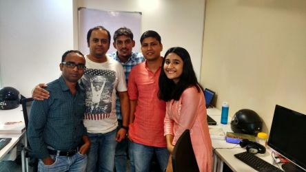 Another normal evening at InstaOffice Business Centre in Sohna Road, Gurgaon