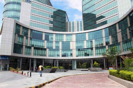 InstaOffice Iris Tech Park outside view