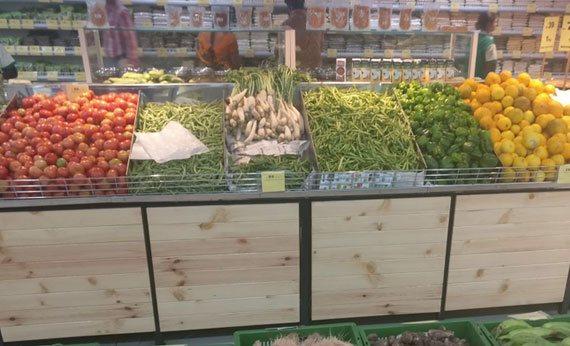 Grocery display shelves & racks, wall units & gondola for kirana stores