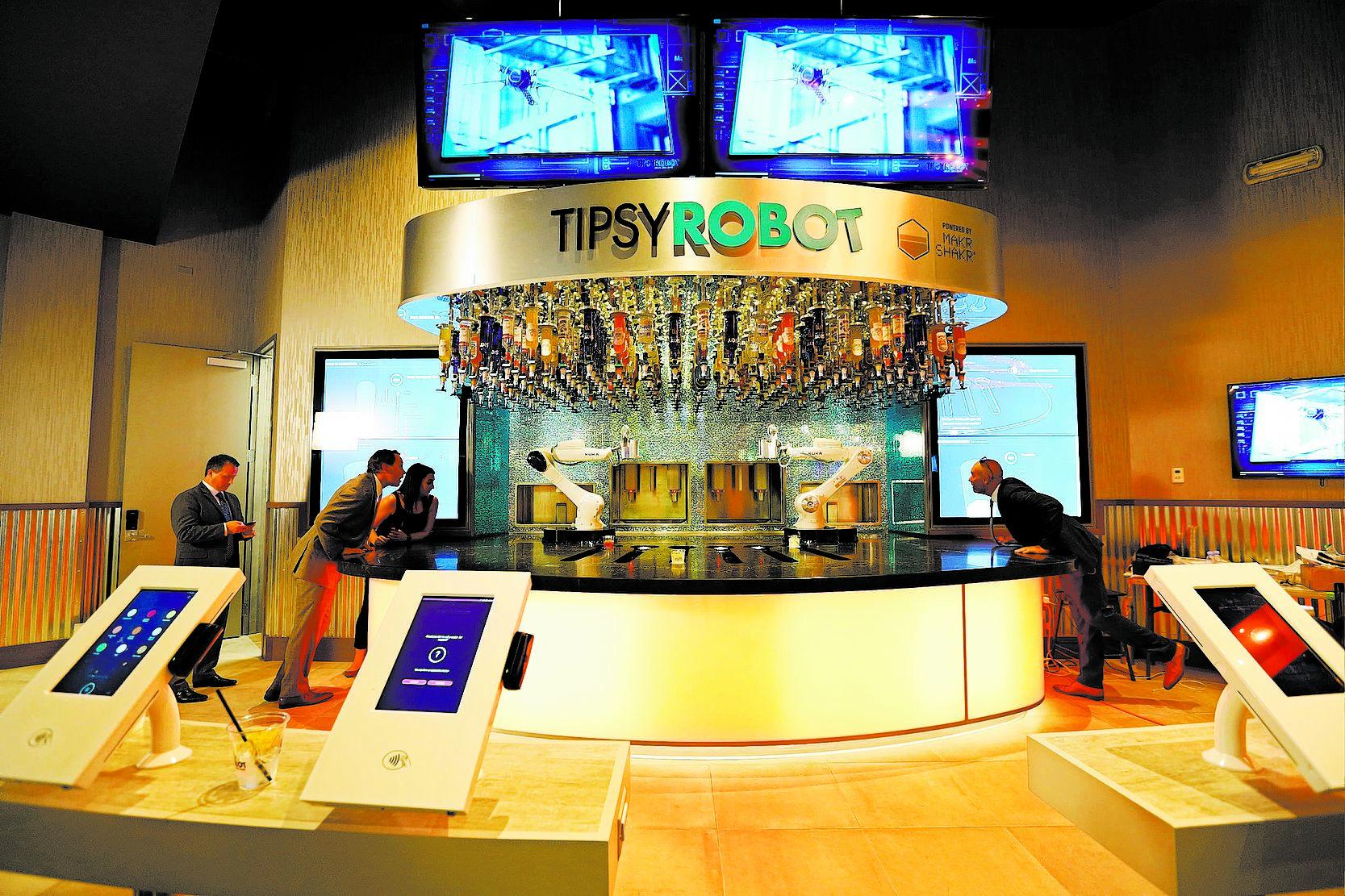Tipsy Robot