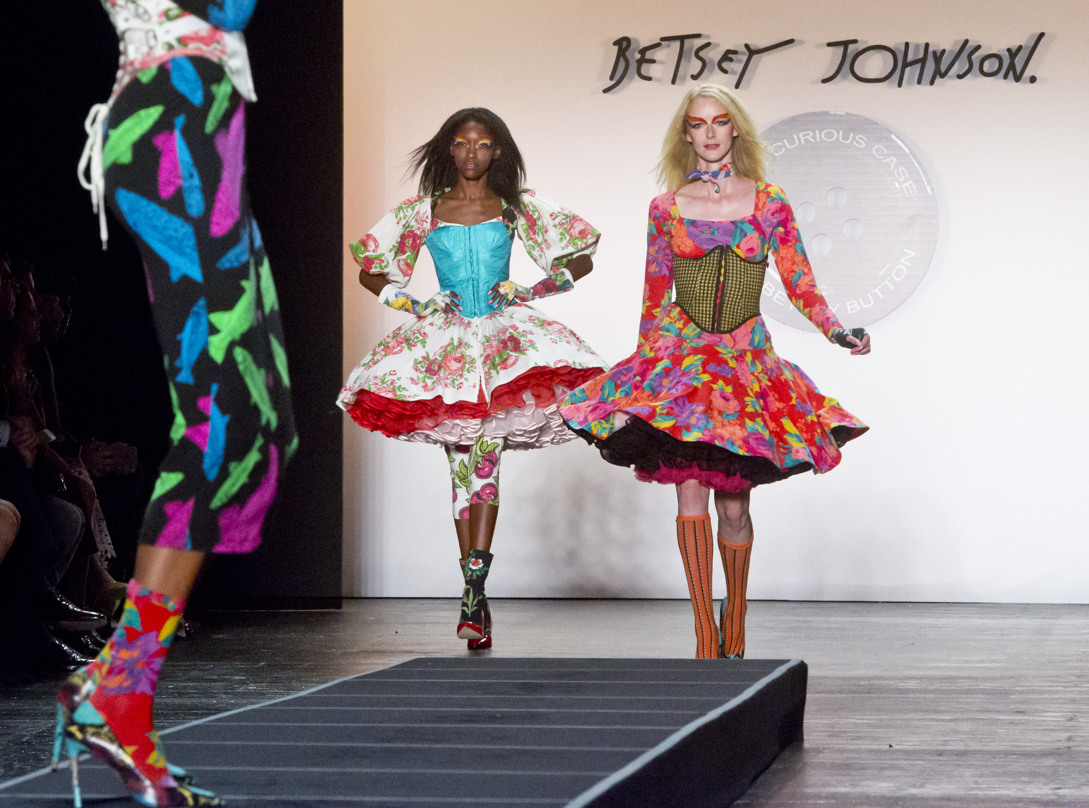 Betsey Johnson's Spring 2016 collection at Fashion Week in New York.