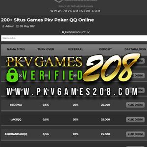 Situs Pkvgames208