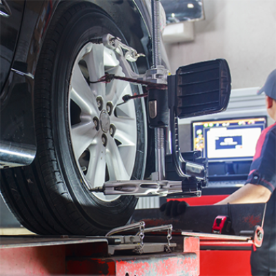 Toe-in and wheel alignment