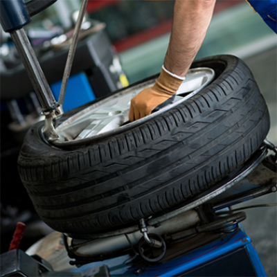 """Tyre change up to 13"""" - alloy rim"""