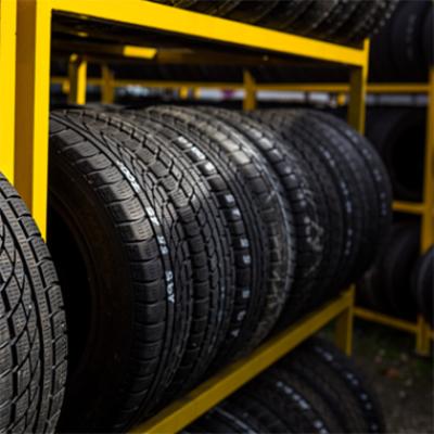 Tyre storing