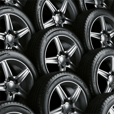 Tyre and rim storing