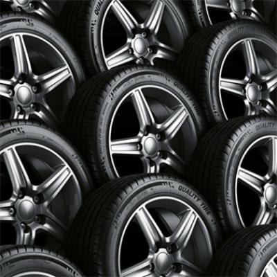 Съхранение на гума с джанта