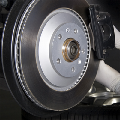 Brake disk replacement