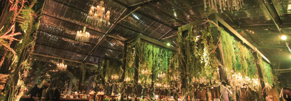 Amidst the Gleaming Chandeliers - a Floral Gatha of Love