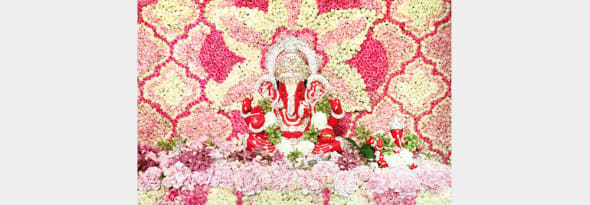 Flower Decorations to Oomph Up Your Ganpati Festival