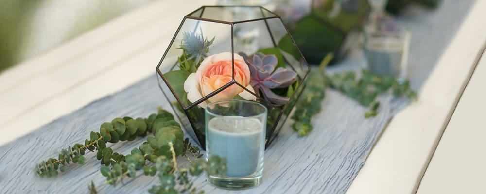 Succulents-in-Terrarium-Pot