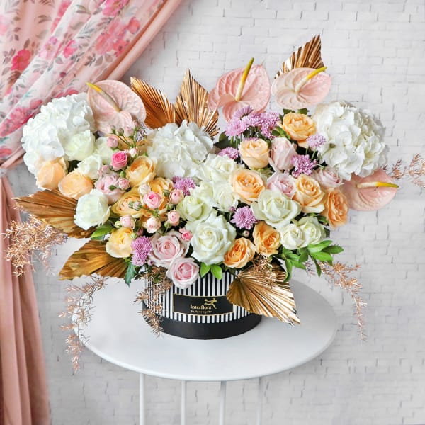 Cascading Floral Love
