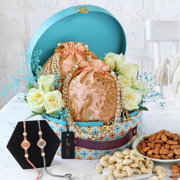For The Loving Bond Rakhi Gift Box