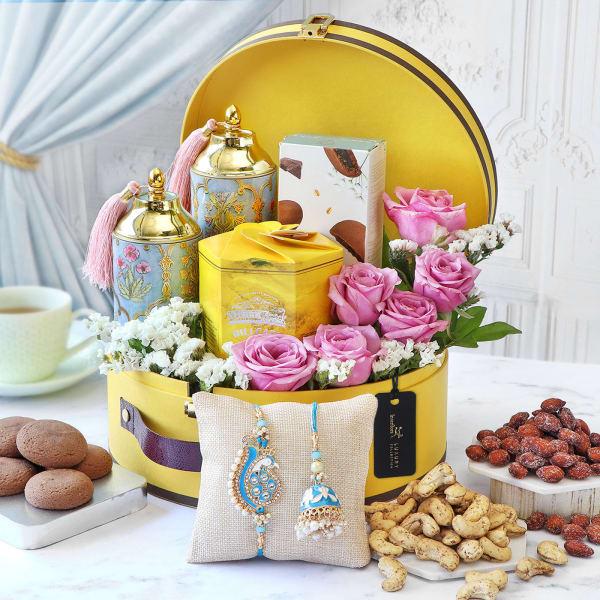 Sunshine Sweetness Rakhi Gift Box
