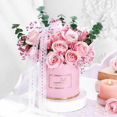 Best Flowers In The Box Flower Arrangements Beautiful Flowers In Box Interflora In