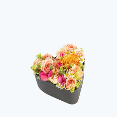 Floral Heart Small