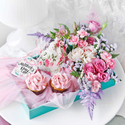 Frosted Surprise & Floral Paradise for Mother's Day