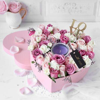 Heart of Fragrance Flower Box