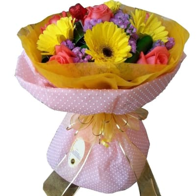 Mixed Cut Flowers Colourful