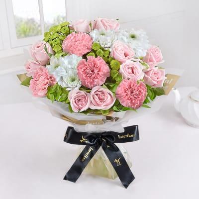 Buy pastel flowers online same day flower delivery in india pastel bloom mightylinksfo