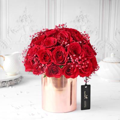 Reckless Love Red Rose Arrangement