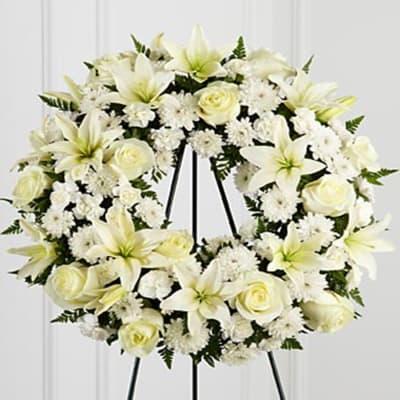 S3-4442 The FTD® Treasured Tribute™ Wreath
