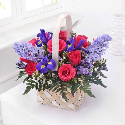 Sweet spring country garden basket order birthday flowers online sweet spring country garden basket mightylinksfo