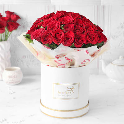 The Soul of Rose Valentine Bouquet