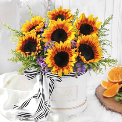 Yellow Mellow Sunshine Bouquet