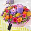 Blooms of Brilliance Diwali Gift Hamper Online