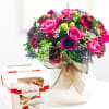 Bright Bouquet with candies