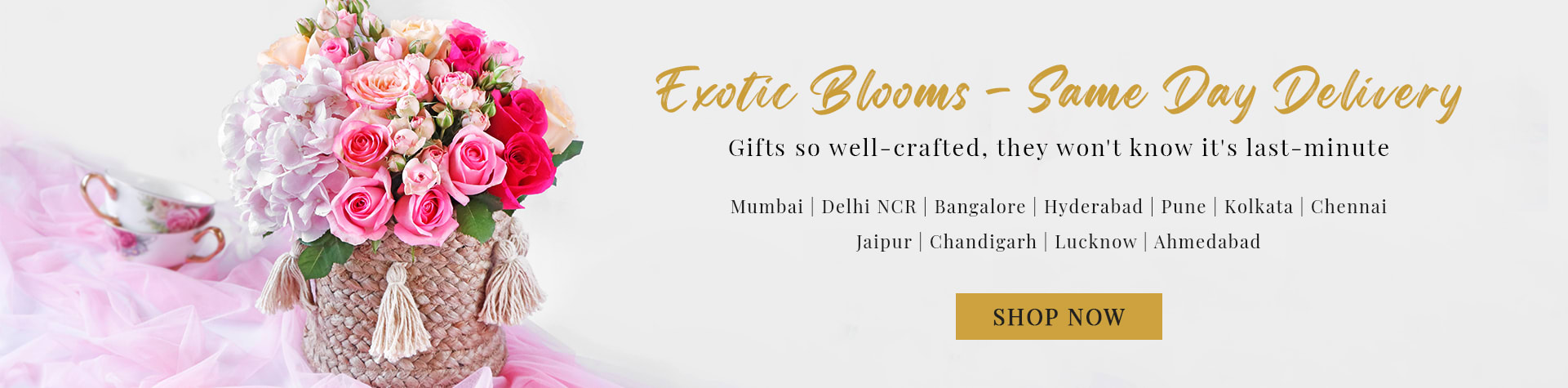 Exotic Blooms - Same Day Flower Delivery