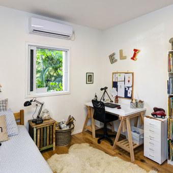 חדר ילד אקלקטי בסגנון