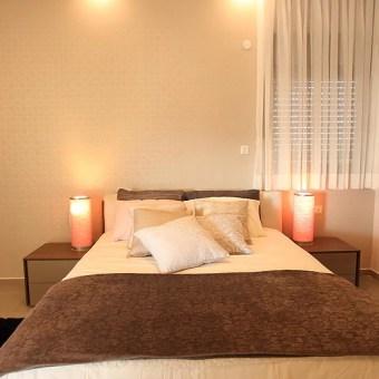 חדר שינה נעים ומזמין