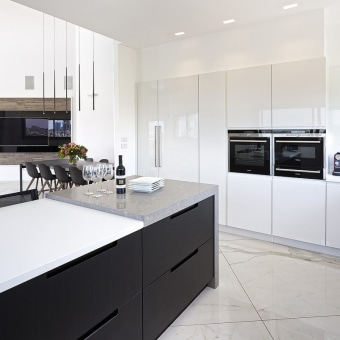 המטבח-לב הבית: בהיר,נקי ומוקפד