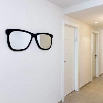 אקססוריז למבואת הכניסה, משקפיים עם מראה