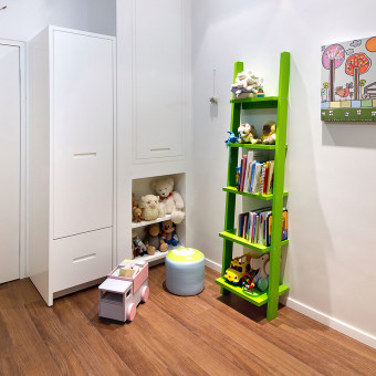 פינת המשחקים בחדר הילדים