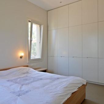 חדר שינה הורים, ארון קיר בנוי בהזמנה
