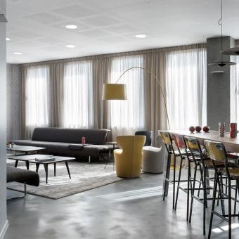 עיצוב פינת אוכל וסלון