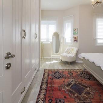 החלום של בעלת הבית היה, חדר שינה בסגנון צרפתי/ פרובנס ורומנטי... נראה לי שעמדתי במשימה...