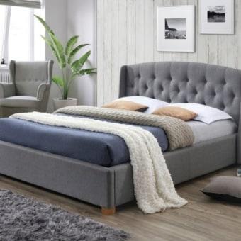 מיטה זוגית מעוצבת המפטון