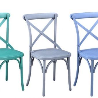 כסאות גן מפולימר עמיד 80490