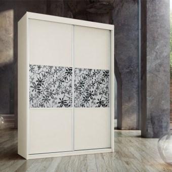 ארון הזזה 2 דלתות דגם כלנית