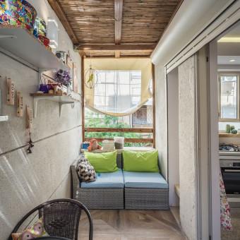 זיהוי שטח מת  במבנה איפשר יציאה למרפסת מהמטבח הקיים  להתרשמות מפרוייקטים נוספים בקרו באתר הבית שלנו: www.daganavi.com