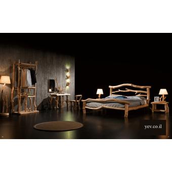 מיטת עץ TIMBER W01