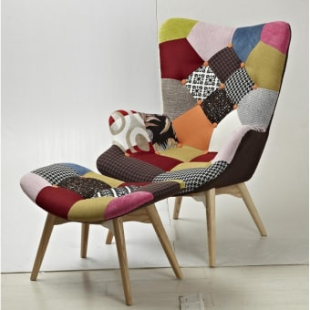 כורסא איכותית מעוצבת מבד 1137854