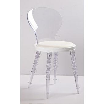 כיסא שקוף לפינת אוכל 11227