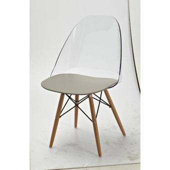 כיסא שקוף לפינת אוכל 11679