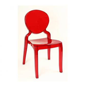 כיסא פינת אוכל שקוף פלסטיק