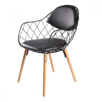כסא מרופד רגלי עץ לפינת אוכל/מסעדות 1964799